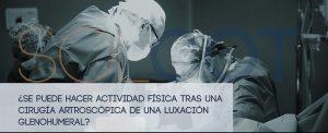 Luxación de hombro - Cirugía traumatológica en Madrid